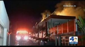 KNBC LA Fire - Arch jail
